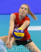 Volleyball Nations League Belgien vs. Niederlande