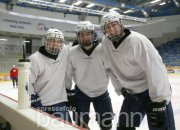 Eishockey Bietigheim Steelers Training U19